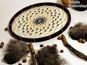 Поймаем сны? Мастер-класс по плетению ловца снов. Ярмарка Мастеров - ручная работа, handmade.