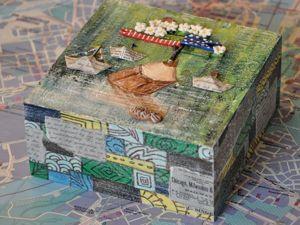 Делаем декор для коробочки «Катерок». Ярмарка Мастеров - ручная работа, handmade.