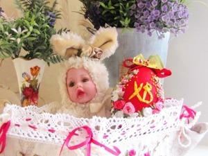 Шьем пасхальный набор: яйцо с вышивкой и салфетка-корзинка. Часть 1. Ярмарка Мастеров - ручная работа, handmade.