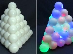 Как создать креативный ночник из шариков для пинг-понга. Ярмарка Мастеров - ручная работа, handmade.