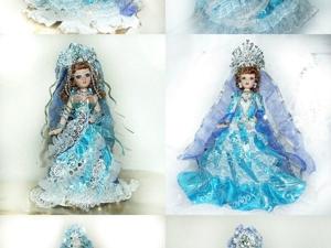 Мои куклёшки в сказочных образах за прошедший год. Ярмарка Мастеров - ручная работа, handmade.
