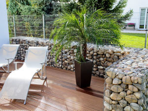 Gabion — a Fashionable Grid and Stones Trend in Landscape Design. Livemaster - handmade