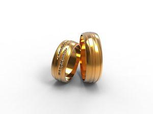 Видео обзор  «Парные обручальные кольца с камнями и с полосами». Ярмарка Мастеров - ручная работа, handmade.