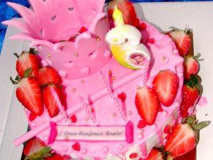 Открываем Сладкую НЕДЕЛЮ . Прикольный тортик для Принцессы!. Ярмарка Мастеров - ручная работа, handmade.