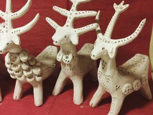 Лепим игрушку-статуэтку «Козлик» из белой глины. Ярмарка Мастеров - ручная работа, handmade.