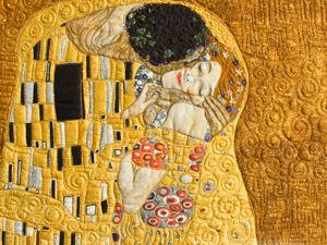 «Поцелуй». Текст. панно. Доп. фото и информация. Ярмарка Мастеров - ручная работа, handmade.