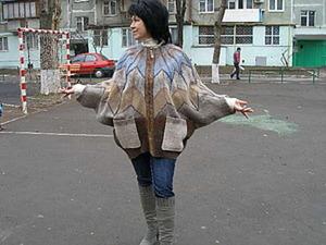 МК по мокрому валянию куртки - парки на змейке. Ярмарка Мастеров - ручная работа, handmade.