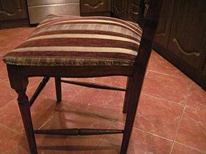 Ремонт и усиление стула. Часть 5: заключительная. Ярмарка Мастеров - ручная работа, handmade.