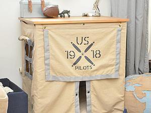 Воплощаем мечту детства: мастерим дом-палатку. Ярмарка Мастеров - ручная работа, handmade.