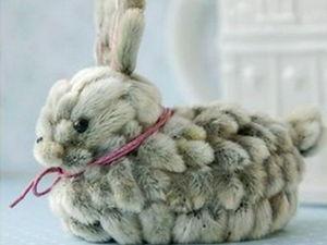 Пасхальный зайчик МК. Ярмарка Мастеров - ручная работа, handmade.