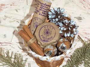 Легко и быстро создаем винтажную подарочную корзину к Новому году. Ярмарка Мастеров - ручная работа, handmade.