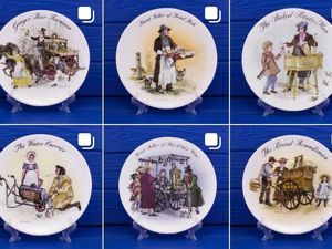 Тарелки Wedgwood серия The Street Sellers of London. Ярмарка Мастеров - ручная работа, handmade.