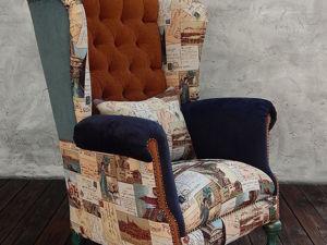 Скидка-40 % на готовое кресло. Ярмарка Мастеров - ручная работа, handmade.