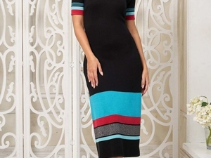 Аукцион на стильное вязаное платье! Старт 2500 р.!. Ярмарка Мастеров - ручная работа, handmade.