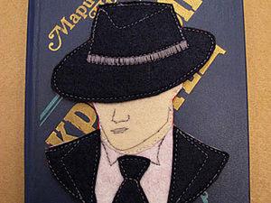 "Закладка "" Гангстер"". Ярмарка Мастеров - ручная работа, handmade."