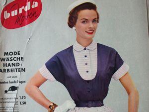 Burda moden  3/1954 Бурда Моден. Ярмарка Мастеров - ручная работа, handmade.