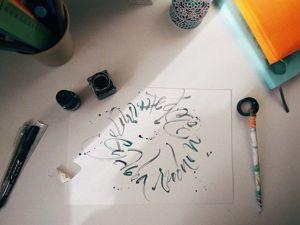 Создание ColaPen — инструмента для экспрессивной каллиграфии. Ярмарка Мастеров - ручная работа, handmade.