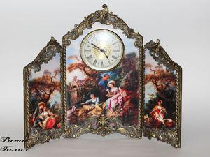 Часы-ширма в стиле Рококо. Ярмарка Мастеров - ручная работа, handmade.