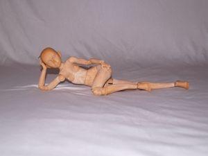 Делаем шарнирную куклу, мастер-модель. Часть 2. Ярмарка Мастеров - ручная работа, handmade.