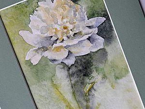 Видео мастер-класс: как легко нарисовать сложный цветок. Ярмарка Мастеров - ручная работа, handmade.