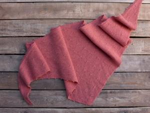 Кашемировай платок коралловый готов. Ярмарка Мастеров - ручная работа, handmade.