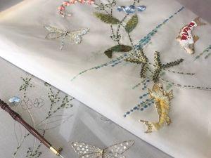 Предпродажа НОВЫЙ онлайн курс по вышивке Высокой Моды Игры Кои. Ярмарка Мастеров - ручная работа, handmade.