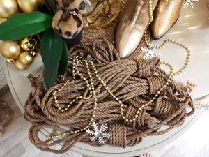Веревки в наличии. Ярмарка Мастеров - ручная работа, handmade.
