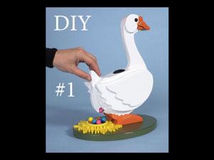 Создаем настольную игру для детей «Утка» своими руками. Ярмарка Мастеров - ручная работа, handmade.