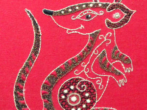 Вышиваем крысу — символ года 2020. Ярмарка Мастеров - ручная работа, handmade.