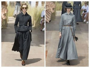 Много женственности и серого цвета: кутюрная коллекция от Dior. Ярмарка Мастеров - ручная работа, handmade.