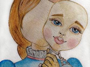 О чем мечтает кукла, или С лицом и без. Ярмарка Мастеров - ручная работа, handmade.