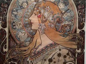 Альфонс Муха и его Женщины, часть 1. Музей Люксембурга в Париже. Ярмарка Мастеров - ручная работа, handmade.