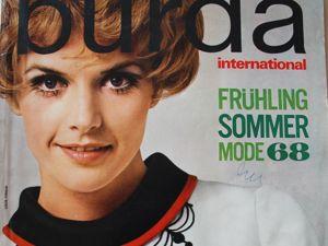Burda international -спец. выпуск — Весна -Лето 1968. Ярмарка Мастеров - ручная работа, handmade.