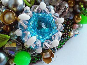 Оплетаем кристалл риволи. Ярмарка Мастеров - ручная работа, handmade.