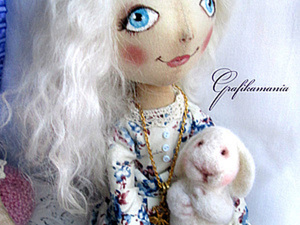 """""""Простое платье для куколки"""" продолжение. Ярмарка Мастеров - ручная работа, handmade."""
