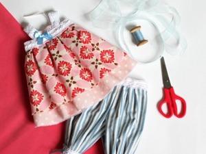 Как подбирать ткани для кукольных нарядов. Ярмарка Мастеров - ручная работа, handmade.