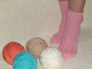 Скидка на взрослые вязаные носки 25%. Ярмарка Мастеров - ручная работа, handmade.
