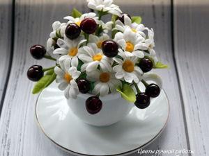 Сегодня  «Вишневый десерт»  за 1600 руб. Ярмарка Мастеров - ручная работа, handmade.