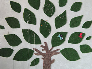 Настенная игольница - дерево. Ярмарка Мастеров - ручная работа, handmade.