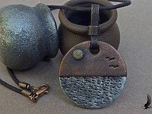Создаем кулон из полимерной глины. Ярмарка Мастеров - ручная работа, handmade.
