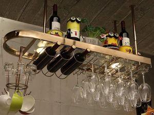 Кованые подвесы — барные и для посуды. Ярмарка Мастеров - ручная работа, handmade.