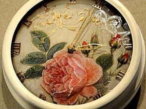 Декорирование часов с необычным стерео-эффектом. Часть 1. Ярмарка Мастеров - ручная работа, handmade.