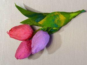 Создаем ватную игрушку Букет тюльпанов. Ярмарка Мастеров - ручная работа, handmade.