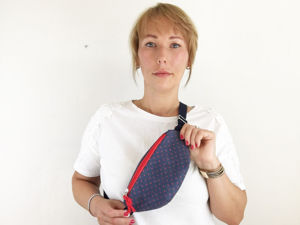 Make Waist Bag In 1 Hour. Livemaster - handmade