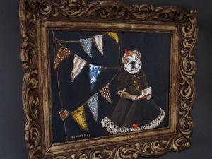 Видео картины  «Лесные сказки». Ярмарка Мастеров - ручная работа, handmade.