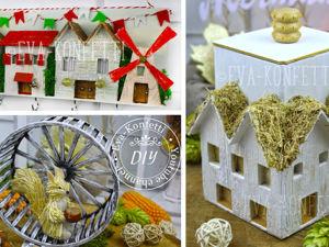Мастерим декор для дома. Ярмарка Мастеров - ручная работа, handmade.