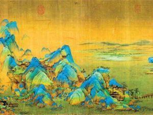 Великие художники Китая. Ван Си Мэн и его свиток «Горы и воды на тысячу ли». Ярмарка Мастеров - ручная работа, handmade.