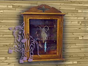 Ключница, просто и быстро.. Ярмарка Мастеров - ручная работа, handmade.