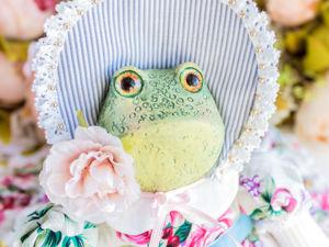 Скарлет лягушка жаба. Ярмарка Мастеров - ручная работа, handmade.