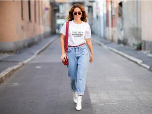 Было ваше, стало наше: как и с чем носить джинсы-бойфренды. Ярмарка Мастеров - ручная работа, handmade.